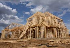 нижняя конструкции домашняя новая Стоковые Изображения