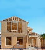нижняя конструкции домашняя новая стоковые фотографии rf