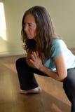 низкая йога Стоковое Изображение