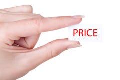 Низкая цена Стоковая Фотография