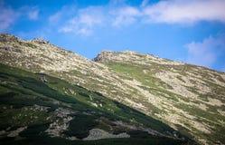 Низкие горы Tatras, Словакия Стоковое Фото
