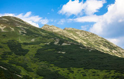 Низкие горы Tatras, Словакия Стоковое Изображение