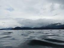 Низкий взгляд воды полуострова kenai Стоковое Фото