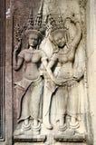 Низкий сброс в Angkor Стоковые Изображения RF