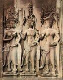 Низкий сброс в Angkor Стоковая Фотография RF
