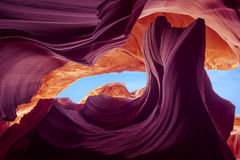 низкое каньона антилопы цветастое Стоковые Фото