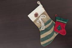 низкопробная картина конструкции цвета рождества socks вода Стоковое Изображение RF