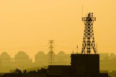 низкопробная станция сотового телефона Стоковая Фотография RF