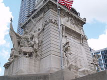 низкопробный памятник стоковая фотография rf
