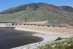 Низкоуровневый резервуар Стоковые Фото