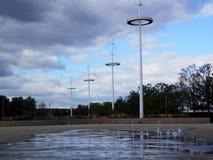 Низкоуровневый фонтан Стоковое Фото