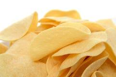 Низко- тучные картофельные стружки стоковые фото