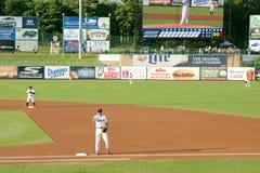 Низшая лига бейсбольного матча Стоковое Фото
