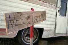 Никакое место не любит домой Стоковое Фото