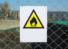 Отсутствие знака пожара Стоковые Изображения RF