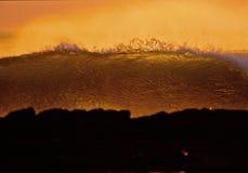 Никарагуанский заход солнца Стоковое Изображение RF
