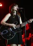 Николь Atkins выполняет в концерте стоковые фото