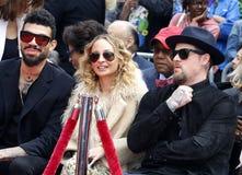 Николь Richie, Benji Madden и мили Richie стоковые изображения