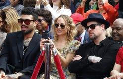 Николь Richie, Benji Madden и мили Richie стоковое изображение rf