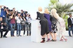 Николь Кидман, мох Elisabeth, лихнис Джейна и Gwendoline Крис Стоковое Изображение RF