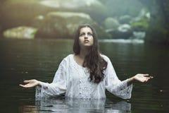 Нимфа воды Стоковые Изображения