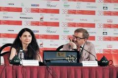 Нина Romodanovskaya и Pyotr Shepotinnik Стоковая Фотография