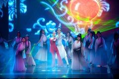 Нирвана--Историческое волшебство драмы песни и танца стиля волшебное - Gan Po Стоковые Фото
