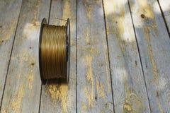 Нить золота стоковое фото rf