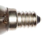 нить предпосылки изолировала белизну socle светильника стоковая фотография
