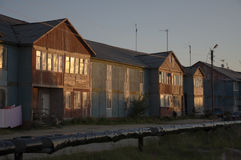 Нищета и плохое 2-storeyed здание Стоковые Фотографии RF
