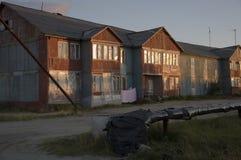 Нищета и плохое 2-storeyed здание Стоковое фото RF