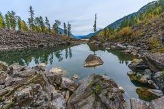дни altai продолжают лето гор Стоковая Фотография
