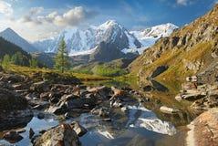 дни altai продолжают лето гор Стоковые Фотографии RF