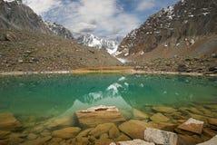 дни altai продолжают лето гор Стоковое Фото
