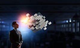Новаторская интеграция технологий Мультимедиа стоковая фотография