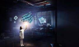 Новаторские впечатляющие технологии Стоковая Фотография RF