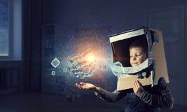 Новаторские впечатляющие технологии стоковая фотография