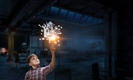 Новаторские впечатляющие технологии стоковое изображение rf