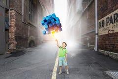Новаторские впечатляющие технологии стоковые фото