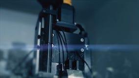 Новаторские технологии в науке и медицине микроскоп Высок-техника Мультимедиа приборы оптически микроскоп сверх-техника Стоковая Фотография