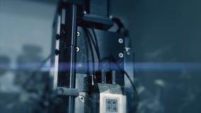 Новаторские технологии в науке и медицине микроскоп Высок-техника Мультимедиа приборы оптически микроскоп сверх-техника Стоковое Фото