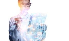 Новаторские технологии для науки и медицины Стоковое Изображение