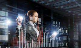 Новаторские технологии средств массовой информации в пользе Мультимедиа Стоковое Изображение RF
