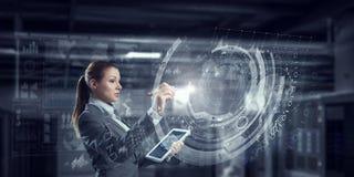 Новаторские технологии средств массовой информации в пользе Мультимедиа Стоковая Фотография