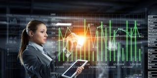 Новаторские технологии средств массовой информации в пользе Мультимедиа Стоковое Фото