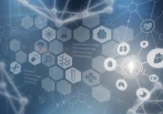 Новаторские технологии в науке и медицине бесплатная иллюстрация