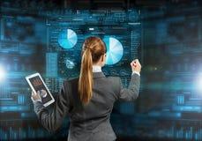 Новаторские технологии средств массовой информации в пользе Стоковые Изображения RF
