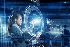 Новаторские технологии средств массовой информации в пользе Стоковое Фото
