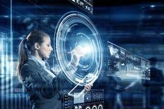 Новаторские технологии средств массовой информации в пользе Стоковая Фотография
