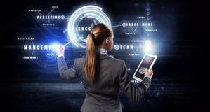 Новаторские технологии средств массовой информации в пользе Стоковая Фотография RF
